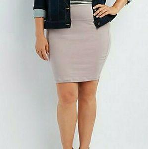 Dresses & Skirts - PLUS SIZE BODY CON SKIRT